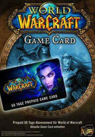 WORLD OF WARCRAFT 60-DAY TIME CARD - BATTLE.NET - PC - EU
