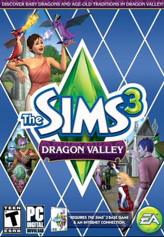 THE SIMS 3: DRAGON VALLEY - ORIGIN - PC - WORLDWIDE