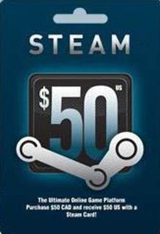 STEAM GIFT CARD 50 $ - STEAM - PC - WORLDWIDE Libelula Vesela Jocuri video