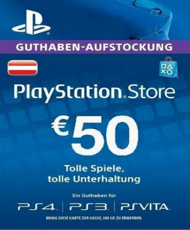 PLAYSTATION NETWORK CARD (PSN) 50 EUR (AUSTRIAN) - PLAYSTATION - EU Libelula Vesela