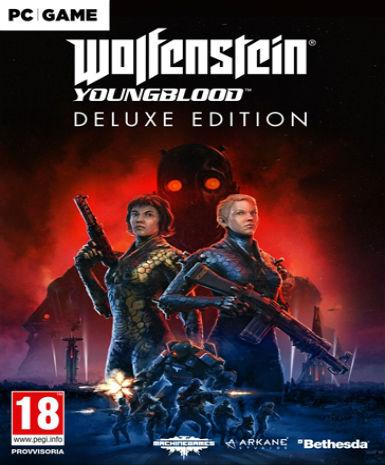 WOLFENSTEIN: YOUNGBLOOD - DELUXE EDITION (CUT) - STEAM - MULTILANGUAGE - EU - PC Libelula Vesela Jocuri video