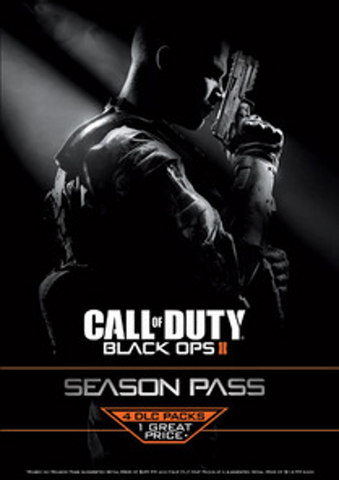 CALL OF DUTY: BLACK OPS 2 SEASON PASS - STEAM - PC - WORLDWIDE