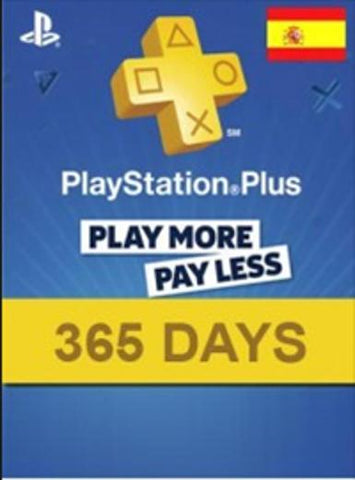 PLAYSTATION NETWORK CARD (PSN) 365 DAYS (SPAIN) - PLAYSTATION - EU