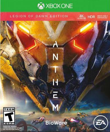 ANTHEM - LEGION OF DAWN EDITION  - XBOX ONE - XBOX LIVE - XBOX ONE