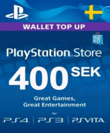 PLAYSTATION NETWORK CARD (PSN) 400 SEK (SWEDEN) - PLAYSTATION - EU