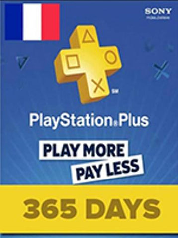 PLAYSTATION NETWORK CARD (PSN) 365 DAYS (FRANCE) - PLAYSTATION - EU