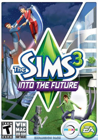 THE SIMS 3: INTO THE FUTURE EXPANSION PACK - ORIGIN - PC / MAC - WORLDWIDE