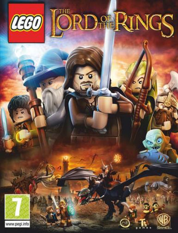 LEGO: LORD OF THE RINGS - STEAM - WORLDWIDE - MULTILANGUAGE - PC
