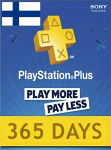 PLAYSTATION NETWORK CARD (PSN) 365 DAYS (FINLAND) - PLAYSTATION - EU