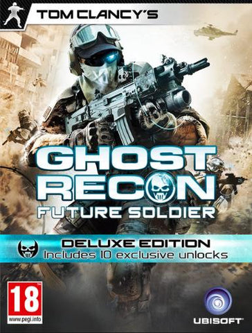 TOM CLANCY S GHOST RECON FUTURE SOLDIER - DELUXE EDITION - INCL. 10 EXCLUSIVE LOCKS - UPLAY - PC - WORLDWIDE