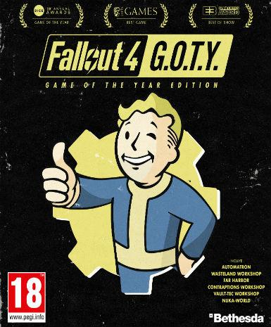FALLOUT 4: GAME OF THE YEAR EDITION (GOTY) - STEAM - PC - WORLDWIDE