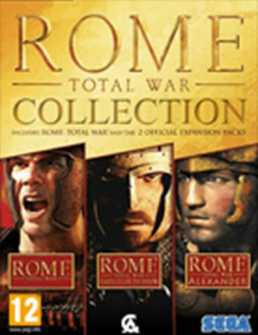 ROME: TOTAL WAR COLLECTION - STEAM - PC - WORLDWIDE