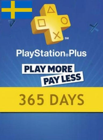 PLAYSTATION NETWORK CARD (PSN) 365 DAYS (SWEDEN) - PLAYSTATION - EU