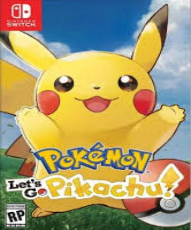 POKEMON: LET'S GO, PIKACHU! - NINTENDO - SWITCH - MULTILANGUAGE - EU - PC