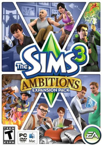 THE SIMS 3: AMBITIONS - ORIGIN - PC / MAC - WORLDWIDE