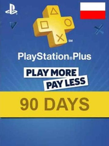 PLAYSTATION NETWORK CARD 90 DAYS (POLAND) - PLAYSTATION - PL