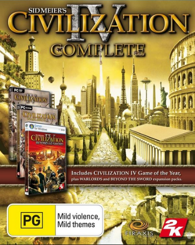 CIVILIZATION 4 - THE COMPLETE EDITION - STEAM