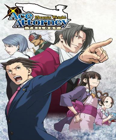 PHOENIX WRIGHT: ACE ATTORNEY TRILOGY - STEAM - PC - EMEA / ASIA