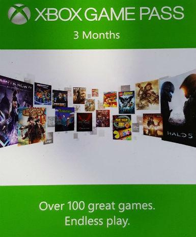 XBOX GAME PASS 3 MONTHS - WORLDWIDE