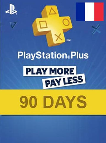 PLAYSTATION NETWORK CARD (PSN) 90 DAYS (FRANCE) - PLAYSTATION - EU