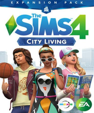 THE SIMS 4: CITY LIVING - ORIGIN - PC - WORLDWIDE Libelula Vesela Jocuri video