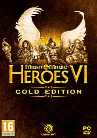 MIGHT & MAGIC: HEROES VI - GOLD EDITION - UPLAY - PC - WORLDWIDE