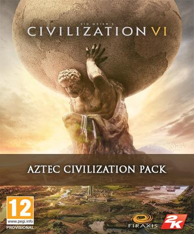 CIVILIZATION 6 - AZTEC CIVILIZATION PACK DLC - STEAM - PC