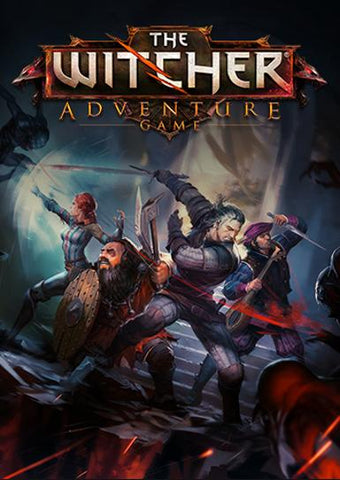 THE WITCHER ADVENTURE GAME - GOG.COM - PC - WORLDWIDE