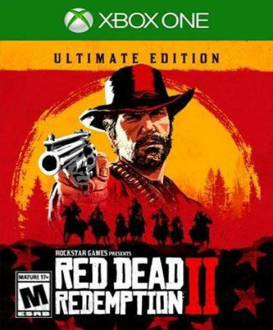 RED DEAD REDEMPTION 2 - ULTIMATE EDITION  - XBOX ONE - XBOX LIVE - XBOX ONE
