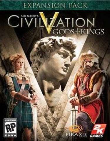 CIVILIZATION 5: GODS & KINGS - STEAM - PC / MAC