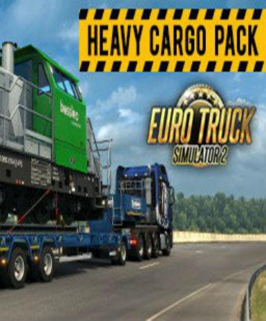 EURO TRUCK SIMULATOR 2 - HEAVY CARGO PACK (DLC) - STEAM - PC - WORLDWIDE
