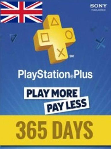 PLAYSTATION NETWORK CARD (PSN) 365 DAYS (UNITED KINGDOM) - PLAYSTATION - EU