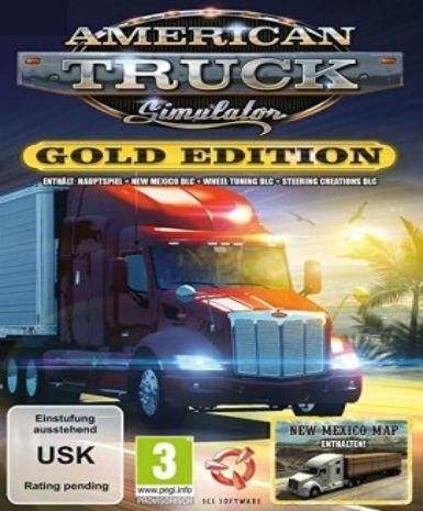 AMERICAN TRUCK SIMULATOR - GOLD EDITION - STEAM - PC - WORLDWIDE