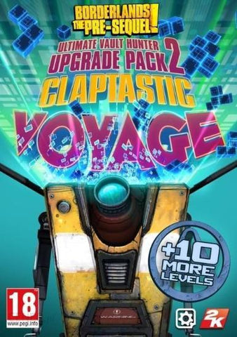 BORDERLANDS: THE PRE-SEQUEL - CLAPTASTIC VOYAGE AND ULTIMATE VAULT HUNTER UPGRADE PACK 2 (DLC) - STEAM - PC - EU