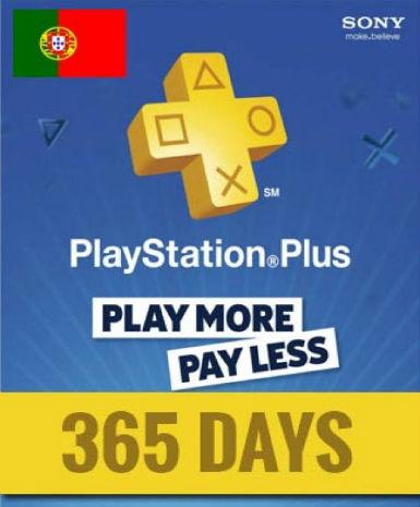 PLAYSTATION NETWORK CARD (PSN) 365 DAYS (PORTUGAL) - PLAYSTATION - EU