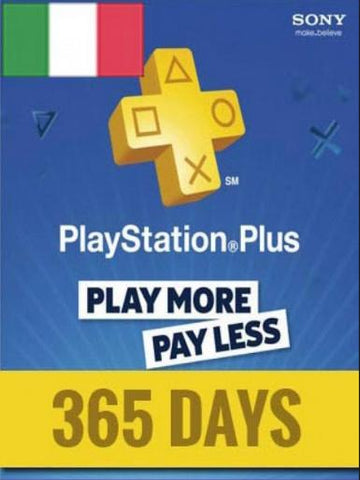 PLAYSTATION NETWORK CARD (PSN) 365 DAYS (ITALIAN) - PLAYSTATION - EU