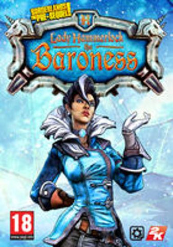 BORDERLANDS: THE PRE-SEQUEL - LADY HAMMERLOCK PACK (DLC) - STEAM - PC - EU