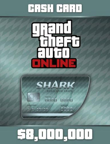 GRAND THEFT AUTO V GTA: MEGALODON SHARK CASH CARD - ROCKSTAR SOCIAL CLUB