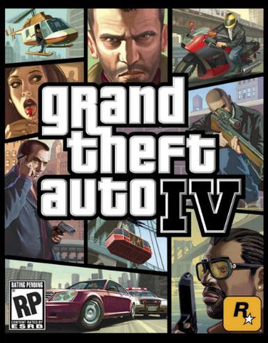 GRAND THEFT AUTO IV GTA - STEAM - PC