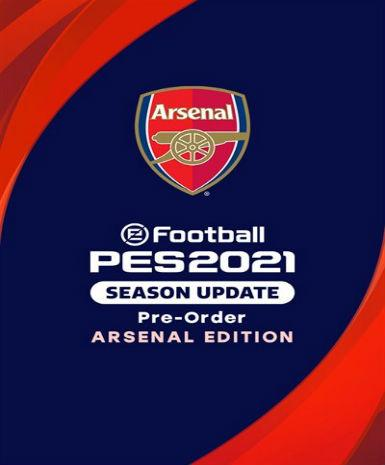 EFOOTBALL PES 2021 SEASON UPDATE: ARSENAL EDITION - STEAM - PC - MULTILANGUAGE - WORLDWIDE Libelula Vesela