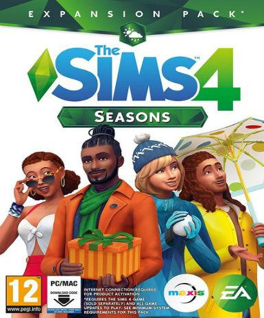 THE SIMS 4: SEASONS - ORIGIN - PC / MAC - WORLDWIDE