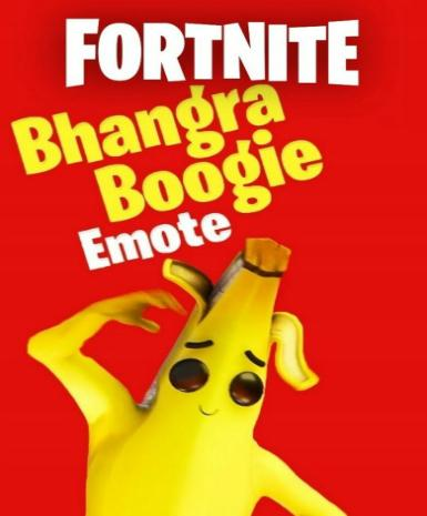 FORTNITE - BHANGRA BOOGIE EMOTE - EPIC STORE - PC - MULTILANGUAGE - WORLDWIDE