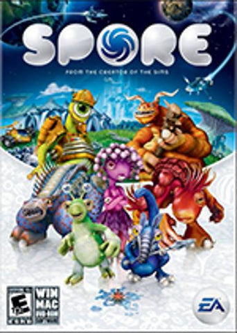 SPORE - ORIGIN - PC / MAC - WORLDWIDE Libelula Vesela Jocuri video