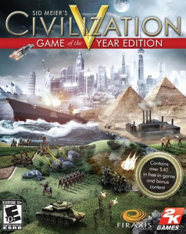 CIVILIZATION 5 GAME OF THE YEAR EDITION - STEAM - PC