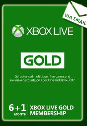 XBOX LIVE GOLD 6 MONTH - XBOX LIVE - MULTILANGUGE - EU