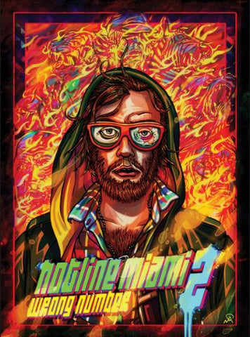 HOTLINE MIAMI 2: WRONG NUMBER - STEAM - PC - WORLDWIDE