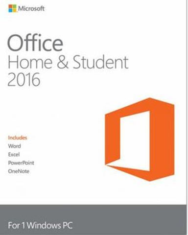 MICROSOFT OFFICE 2016 HOME & STUDENT - MULTILANGUAGE - WORLDWIDE - PC