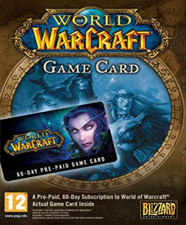 WORLD OF WARCRAFT 60-DAY TIME CARD US - BATTLE.NET - PC - US