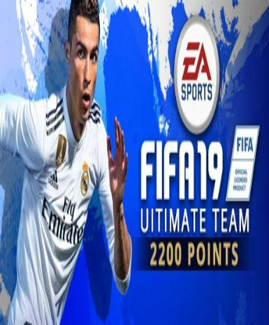 FIFA 19 - 2200 FUT Points - ORIGIN - PC - WORLDWIDE