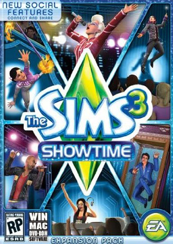 THE SIMS 3: SHOWTIME - ORIGIN - PC / MAC - WORLDWIDE